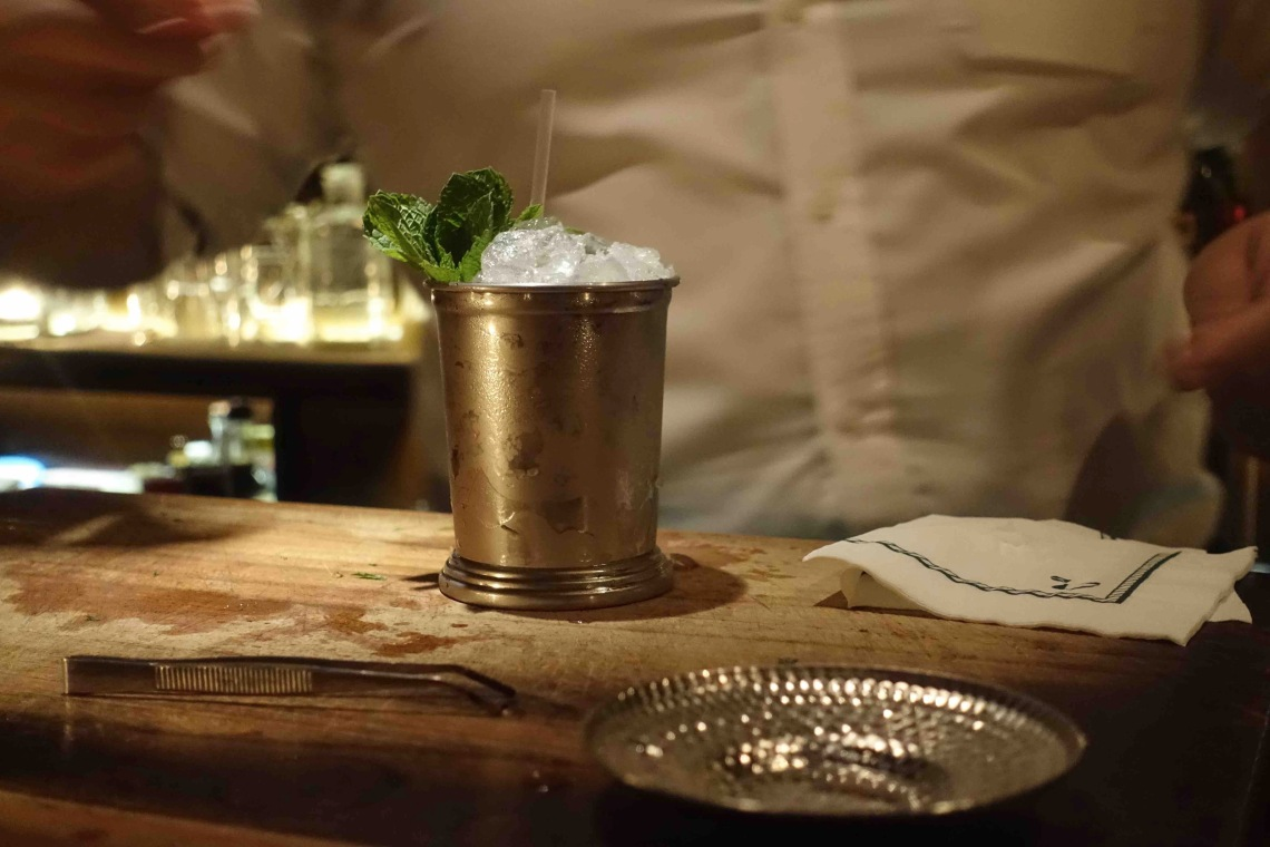 Q&A Cocktail Journey - 6- Mint Julep